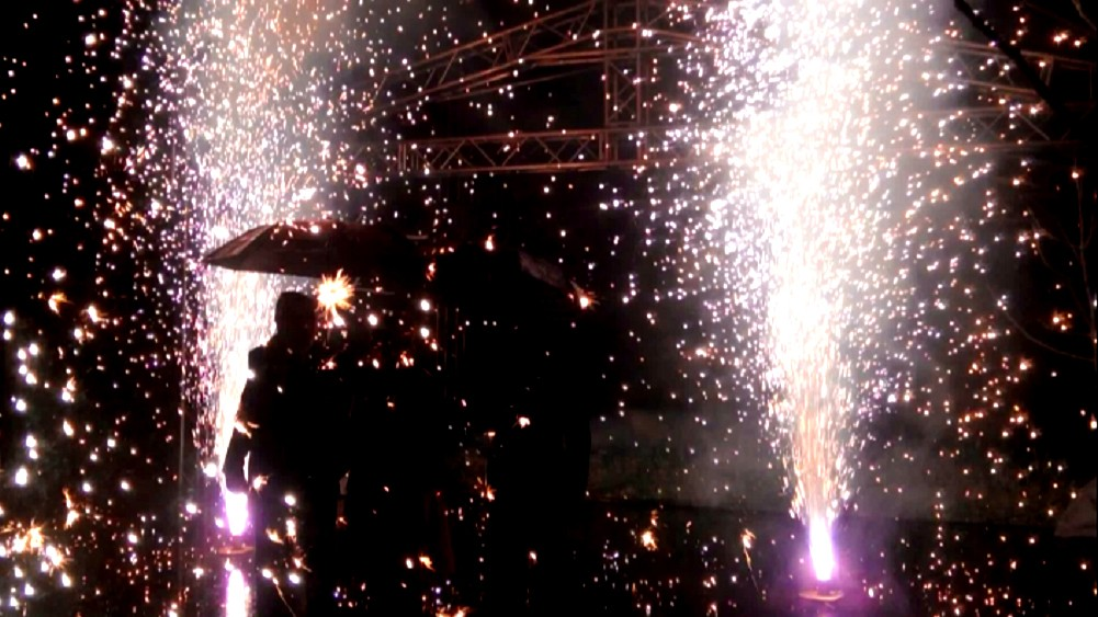 pyrotechnic fountains 1
